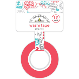 Going Places Washi Tape 12 Yards - Doodlebug
