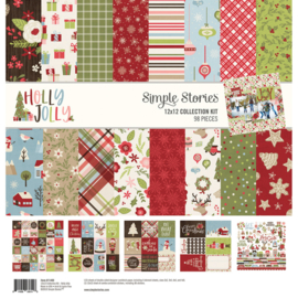 Holly Jolly Collection Kit 12x12 - Simple Stories