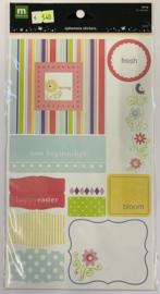 Spring Ephemera Stickers - Making Memories