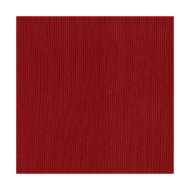 Blush Red Dark 12x12 - Bazzill