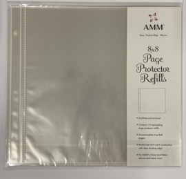 8x8 Page Protectors Postbound - AMM
