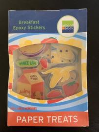 Epoxy Stickers Breakfast - Around the Block