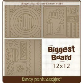 Chipboard Die-cuts Every Element 12x12