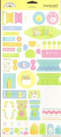 Easter Tags & Tabs Cardstock Stickers