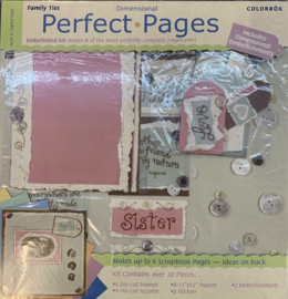 Perfect Pages Family Ties 12x12 - Colorbok