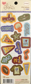 Cody Chipboard Buttons