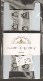 Accent Organdy Wedding Doodlebug Design