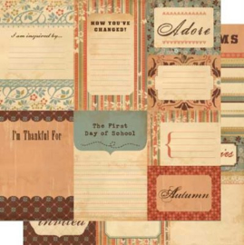 Journaling Cards Gretel - Cosmo Cricket