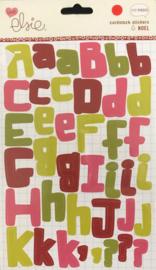 Noel Cardstock Stickers