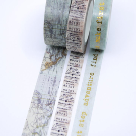 Finnabair Washi Tape Wanderlust - Prima Marketing