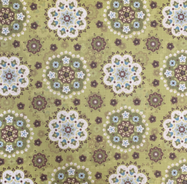 Olive Persian Flower - Chatterbox