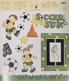 Soccer Star Stickers - My Mind's Eye