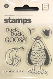 Duck Duck Goose Clear Stamps