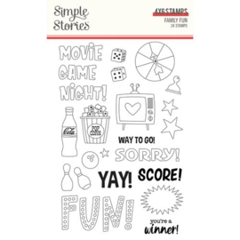 Family Fun 4x6 Stamps - Simple Stories