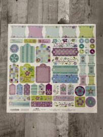 Renae Lindgren Aubrey Stickers - Creative Imaginations