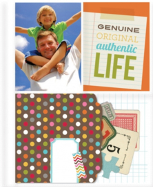 3x4/4x6 Refills Sn@p Pocket Pages for 6x8 Binder