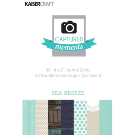 Sea Breeze Journal Cards 4x6 - KaiserCraft