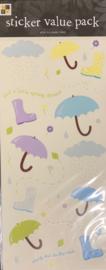 Sticker Value Pack Rain - DCWV