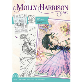 Lili of Love - Crafters Companion Molly Harrison Art