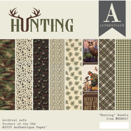 Hunting paper pad 6x6 - Authentique