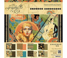 Vintage Hollywood 8x8 Paper Pad Graphic 45