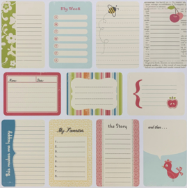 Cherry Hill Journal Cards - October afternoon