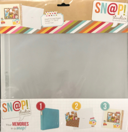 Snap Pocket Pages Design 1 12x12