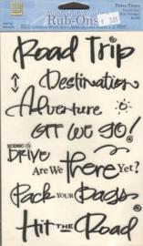 Wonderful Words Rub-Ons Travel On! Deja Views
