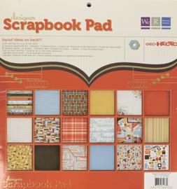 Designer Scrapbook Pad Geo-Hectic - We R Memory Keepers