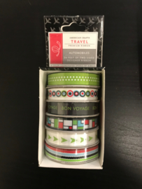 Travel Double Sided Ribbon