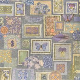 Floral Stamp - K & Company