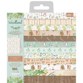 Woodland Friends 6x6 paper pad - Crafter's Companion