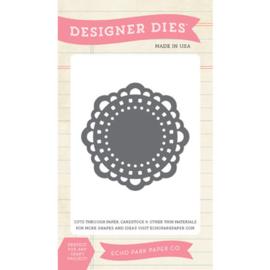 Designer Dies Small Doily Die - Echo Park