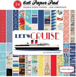 Lets Cruise by Steven Duncan 6x6 Paper Pad - Carta Bella