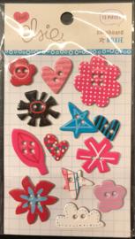 Roxie Chipboard Shapes Elsie KI Memories