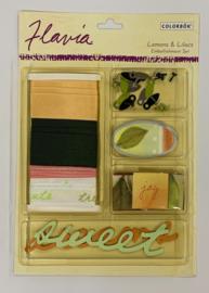 Flavia Lemons Embellishments - Colorbok