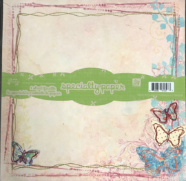 Specialty Paper Stitched Butterfly