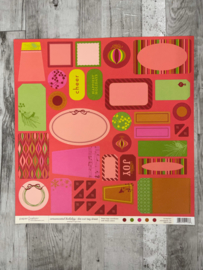 Ornamental Holiday Die-cut Tag Sheet - Paper Salon