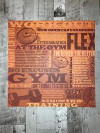 Workout Collage - Karen Foster