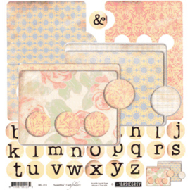 Cardfolders - SweetPea Collection Basic Grey
