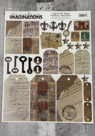 Layer it On Papers Stickers - Creative Imaginations