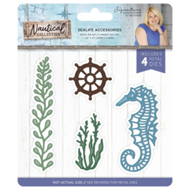 Sealife Accessories Metal Dies Nautical Collection - Crafter's Companion