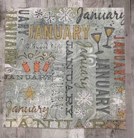 January Doodle - Karen Foster
