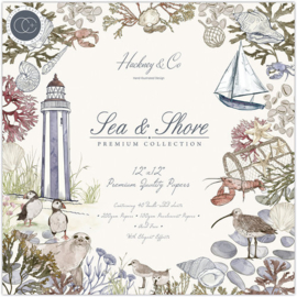 Sea & Shore Paper Pad 12x12 - Craft Consortium