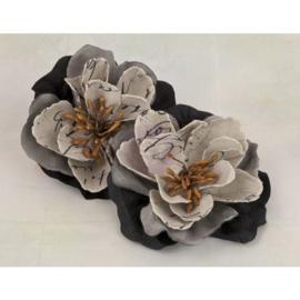 Valentina Black Flowers Prima