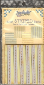 Sweet Striped Blocks Sweetwater