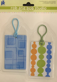 Rob and Bob Studio Plastic Tags Summer Days - Provo Craft