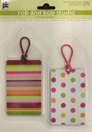 Rob and Bob Studio Plastic Tags Fashion Forward - Provo Craft