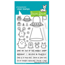 Beam me Up Stamps - Lawn Fawn