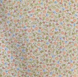 Olive Summer Flowers - Chatterbox